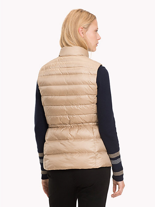 TOMMY HILFIGER Regular Fit Padded Gilet - MEDIUM TAUPE - TOMMY HILFIGER NEW IN - detail image 1