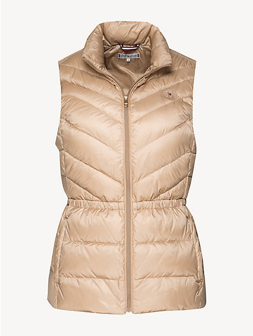 TOMMY HILFIGER Regular Fit Padded Gilet - MEDIUM TAUPE - TOMMY HILFIGER Jackets - detail image 1