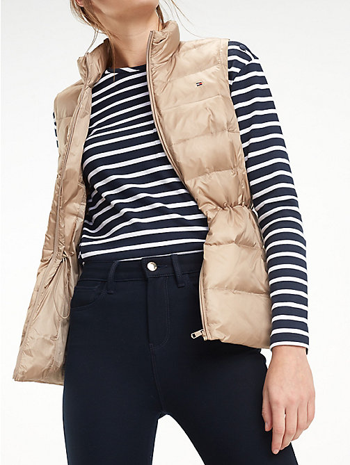 TOMMY HILFIGER Regular Fit Padded Gilet - MEDIUM TAUPE - TOMMY HILFIGER Jackets - main image