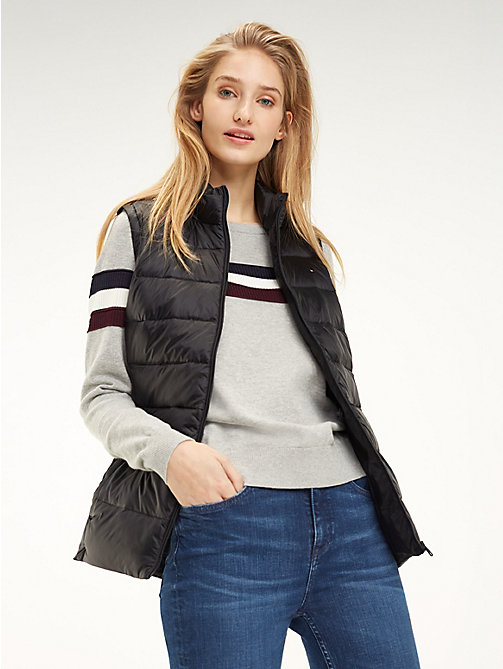 TOMMY HILFIGER Regular Fit Padded Gilet - BLACK BEAUTY - TOMMY HILFIGER Jackets - main image