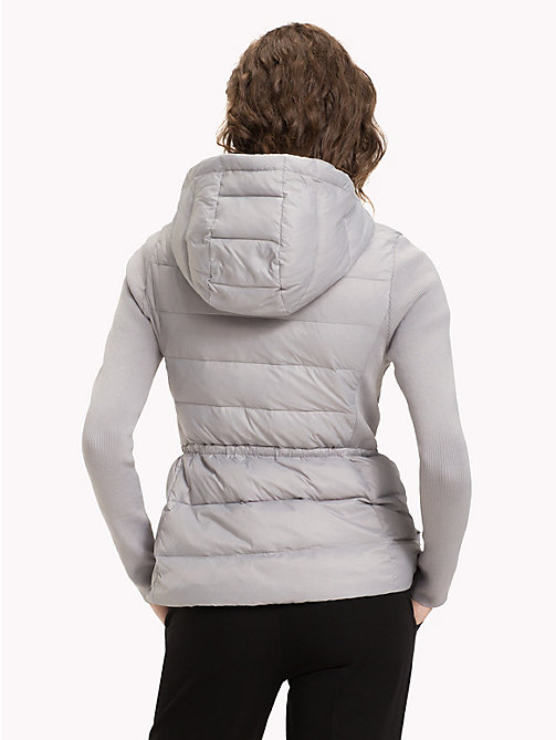 TOMMY HILFIGER Lightweight Quilted Down Jacket - LIGHT GREY - TOMMY HILFIGER NEW IN - detail image 1
