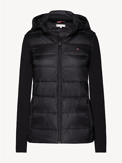 TOMMY HILFIGER Lightweight Quilted Down Jacket - BLACK BEAUTY - TOMMY HILFIGER Jackets - detail image 1