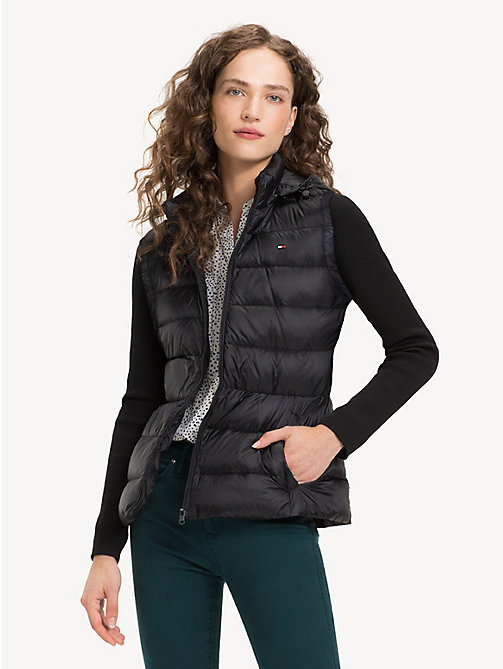 TOMMY HILFIGER Lightweight Quilted Down Jacket - BLACK BEAUTY - TOMMY HILFIGER NEW IN - main image
