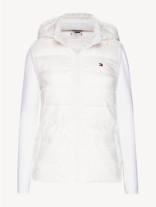 TOMMY HILFIGER Lightweight Quilted Down Jacket - SNOW WHITE - TOMMY HILFIGER Jackets - detail image 1