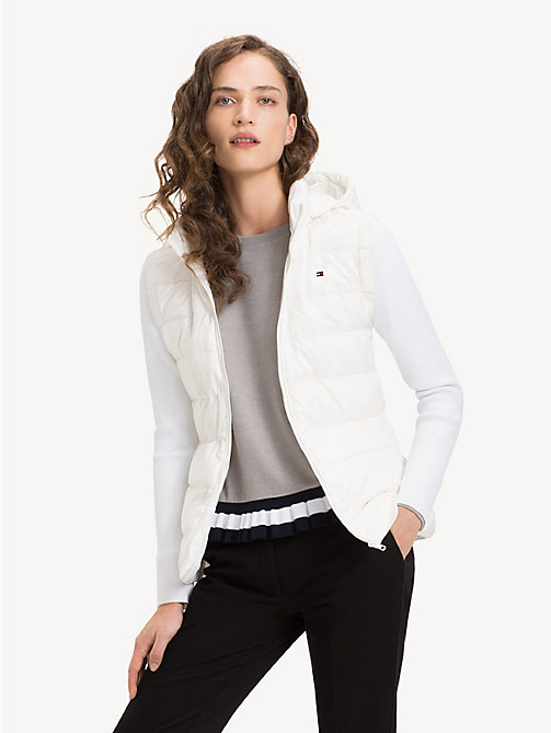 TOMMY HILFIGER Lightweight Quilted Down Jacket - SNOW WHITE - TOMMY HILFIGER NEW IN - main image