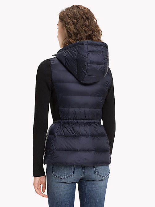 TOMMY HILFIGER Lightweight Quilted Down Jacket - MIDNIGHT - TOMMY HILFIGER NEW IN - detail image 1