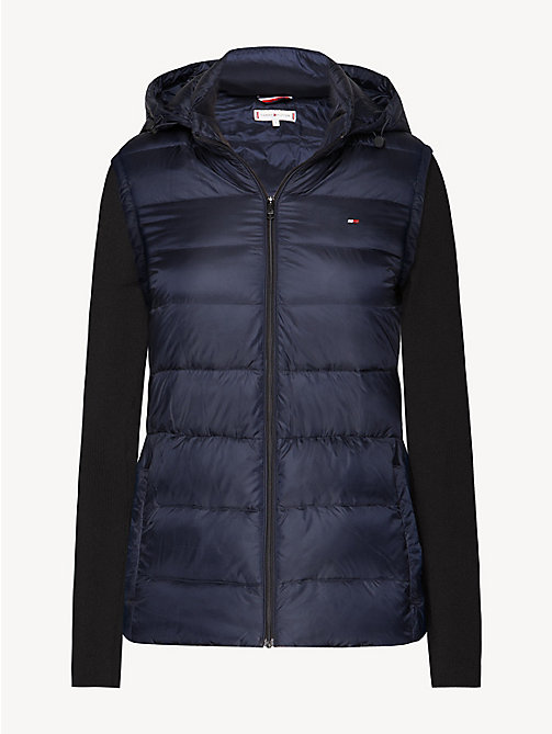 TOMMY HILFIGER Lightweight Quilted Down Jacket - MIDNIGHT - TOMMY HILFIGER Jackets - detail image 1