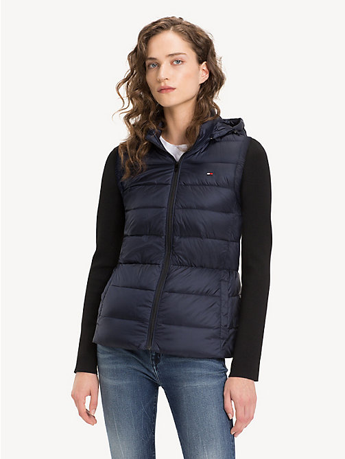 TOMMY HILFIGER Lightweight Quilted Down Jacket - MIDNIGHT - TOMMY HILFIGER NEW IN - main image