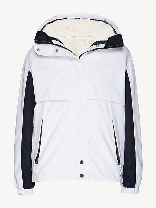 TOMMY HILFIGER 4-in-1 reversible jas - SNOW WHITE - TOMMY HILFIGER NIEUW - detail image 1