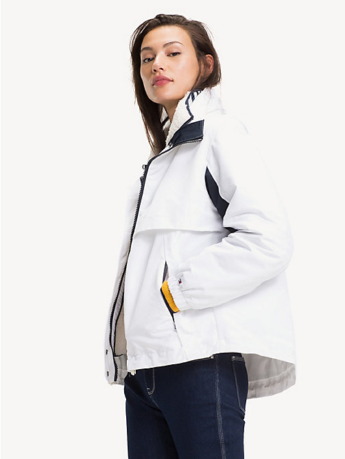 TOMMY HILFIGER 4-in-1 reversible jas - SNOW WHITE - TOMMY HILFIGER NIEUW - main image