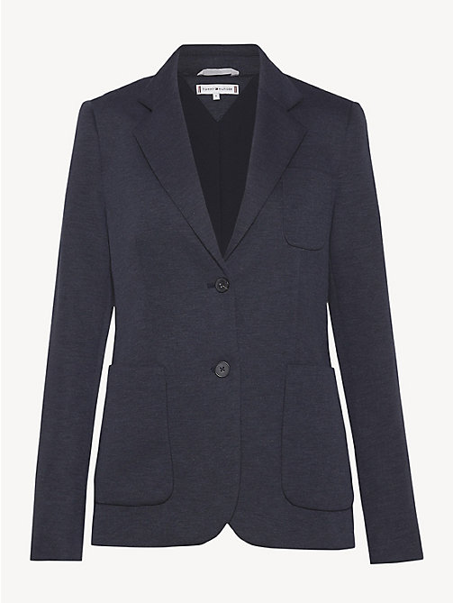 TOMMY HILFIGER Smart Jersey Blazer - MIDNIGHT - TOMMY HILFIGER NEW IN - detail image 1