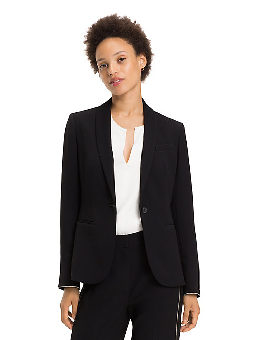 TOMMY HILFIGER Blazer con catenella - BLACK BEAUTY - TOMMY HILFIGER Party Look - immagine principale