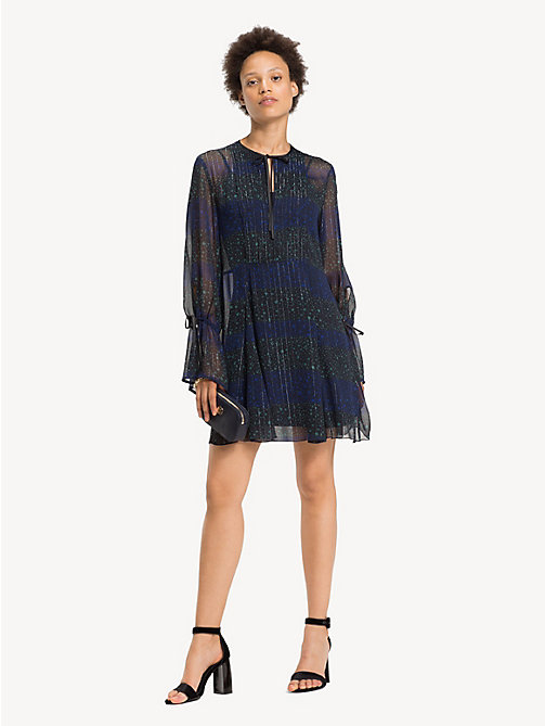 TOMMY HILFIGER Stars and Stripes Long-Sleeve Dress - ALLOVER STAR PRT / BLACK BEAUTY - TOMMY HILFIGER Dresses - main image