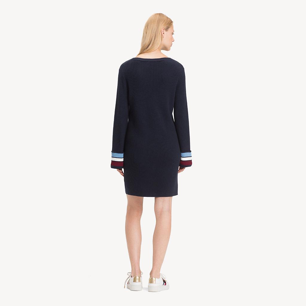 Tommy Hilfiger - Regular Fit Kleid aus Kaschmirmix - 2