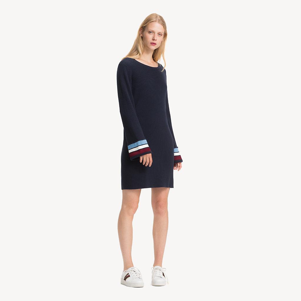 Tommy Hilfiger - Regular Fit Kleid aus Kaschmirmix - 1