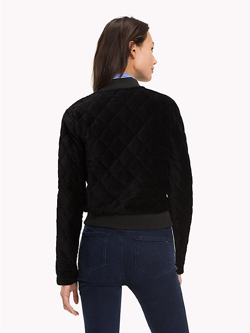 TOMMY HILFIGER Quilted Sports Jacket - BLACK BEAUTY - TOMMY HILFIGER Something Special - detail image 1