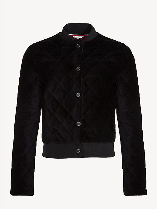 TOMMY HILFIGER Quilted Sports Jacket - BLACK BEAUTY - TOMMY HILFIGER Jackets - detail image 1
