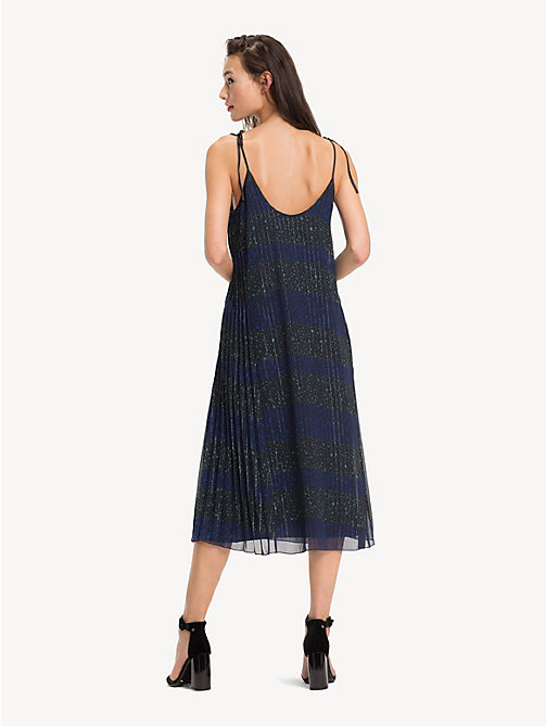 TOMMY HILFIGER Trägerkleid mit 'Stars-and-Stripes'-Print - ALLOVER STAR PRT / BLACK BEAUTY - TOMMY HILFIGER Party-Looks - main image 1