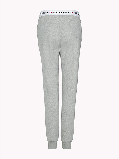 TOMMY HILFIGER Pantalon de survêtement Tommy Icons - LIGHT GREY HTR - TOMMY HILFIGER TOMMY ICONS - image détaillée 1