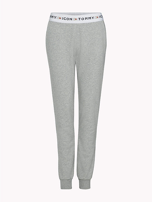 TOMMY HILFIGER Tommy Icons Joggers - LIGHT GREY HTR - TOMMY HILFIGER TOMMY ICONS - main image