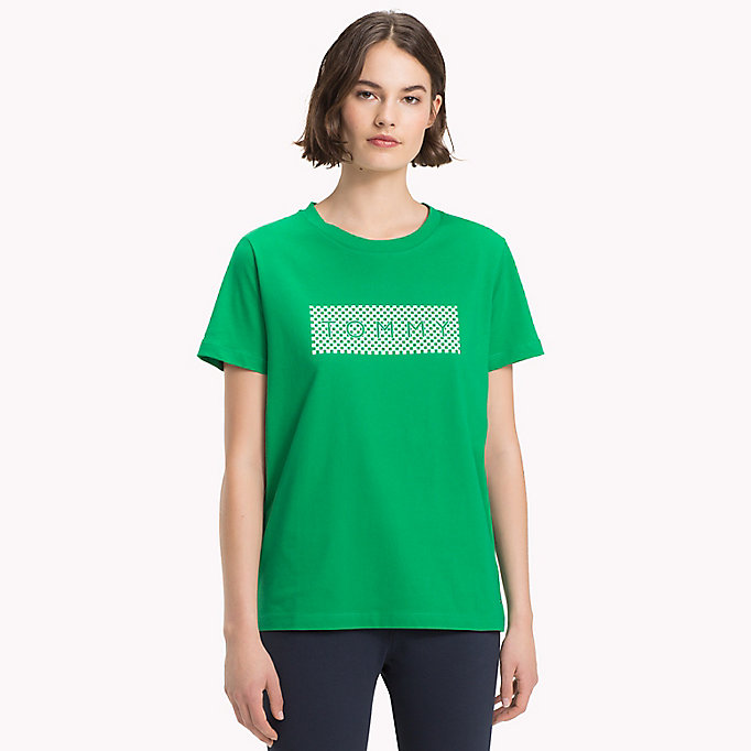 TOMMY HILFIGER Athleisure Logo T-Shirt - MIDNIGHT - TOMMY HILFIGER Women - main image