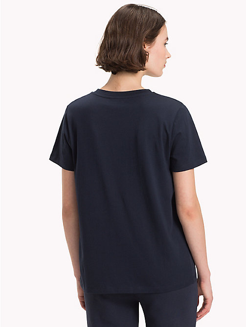 TOMMY HILFIGER Athleisure Logo T-Shirt - MIDNIGHT - TOMMY HILFIGER T-Shirts - detail image 1