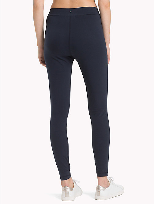 TOMMY HILFIGER Athleisure Logo Leggings - MIDNIGHT - TOMMY HILFIGER Athleisure - detail image 1