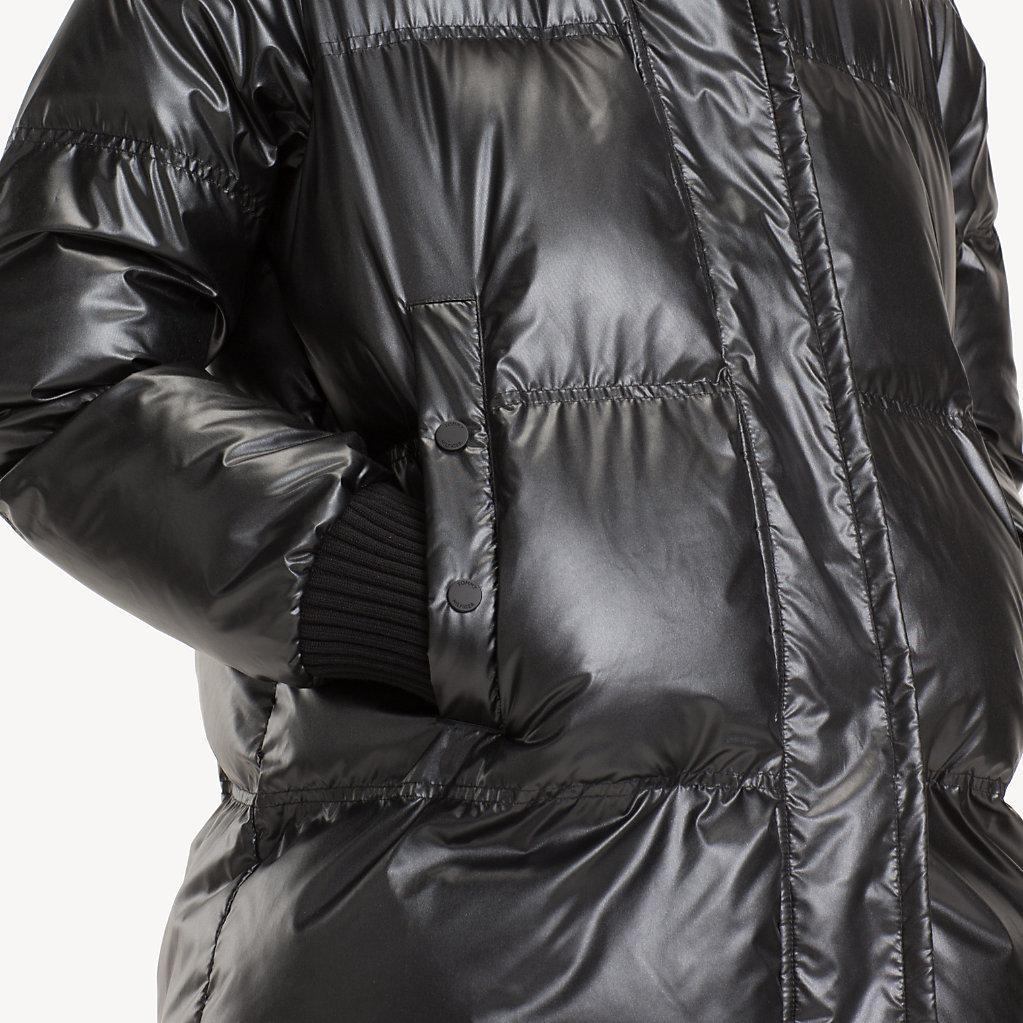 Tommy Hilfiger - Abrigo acolchado metalizado - 6