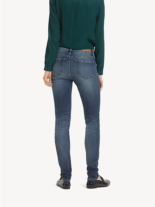 TOMMY HILFIGER Skinny fit faded jeans - SANNY - TOMMY HILFIGER Skinny fit jeans - detail image 1