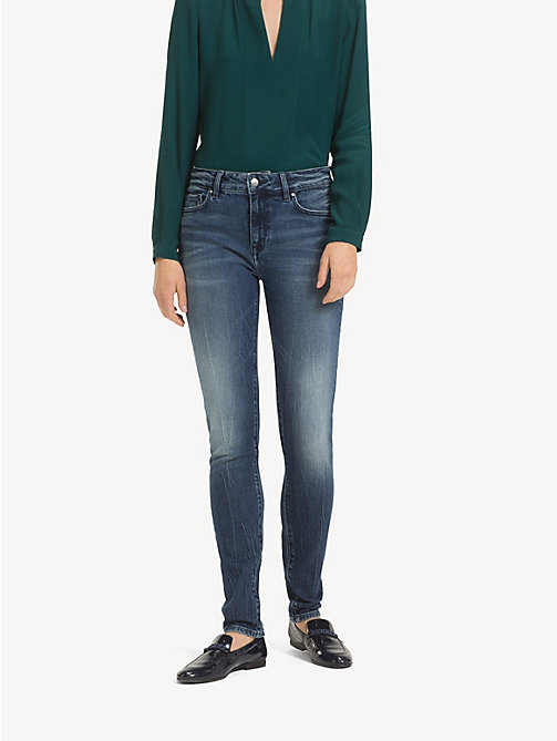 TOMMY HILFIGER Skinny Fit Faded Jeans - SANNY - TOMMY HILFIGER Skinny Jeans - main image