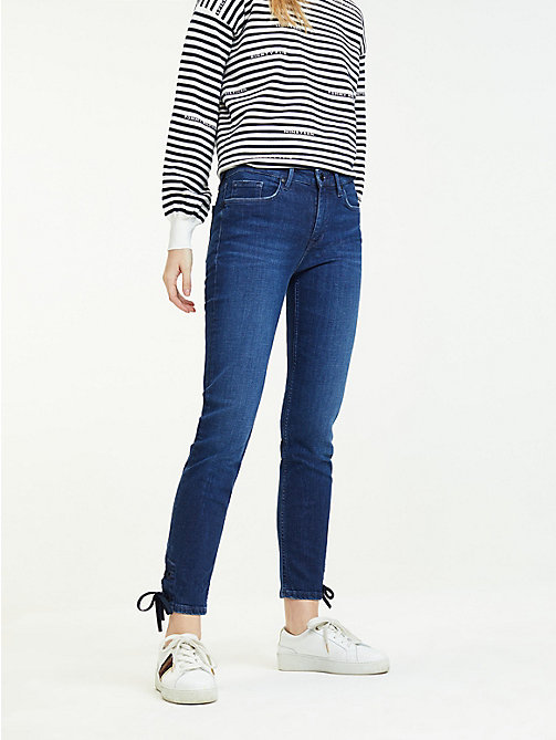 2dc6e6f24bc TOMMY HILFIGERFitted Slim Ankle Jeans