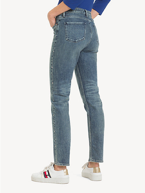 TOMMY HILFIGER Slim fit enkellange jeans - LARIS - TOMMY HILFIGER Slim fit jeans - detail image 1