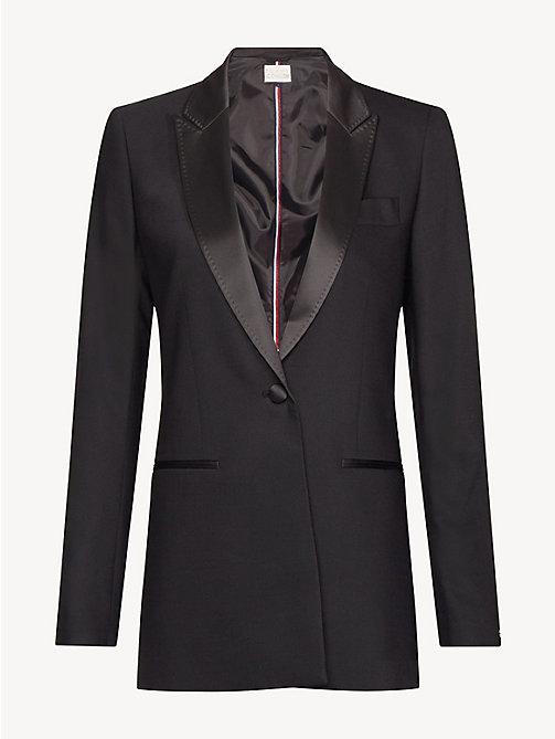 TOMMY HILFIGER Tommy Icons Blazer - BLACK BEAUTY -  TOMMY ICONS - detail image 1