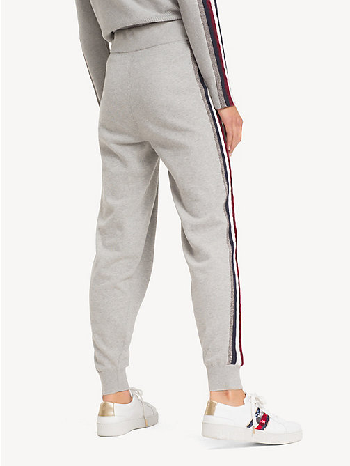 TOMMY HILFIGER Tommy Icons Joggers - LIGHT GREY HTR - TOMMY HILFIGER TOMMY ICONS - detail image 1