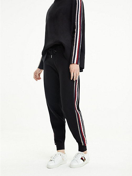 TOMMY HILFIGER Pantalon de survêtement Tommy Icons - BLACK BEAUTY - TOMMY HILFIGER TOMMY ICONS - image principale