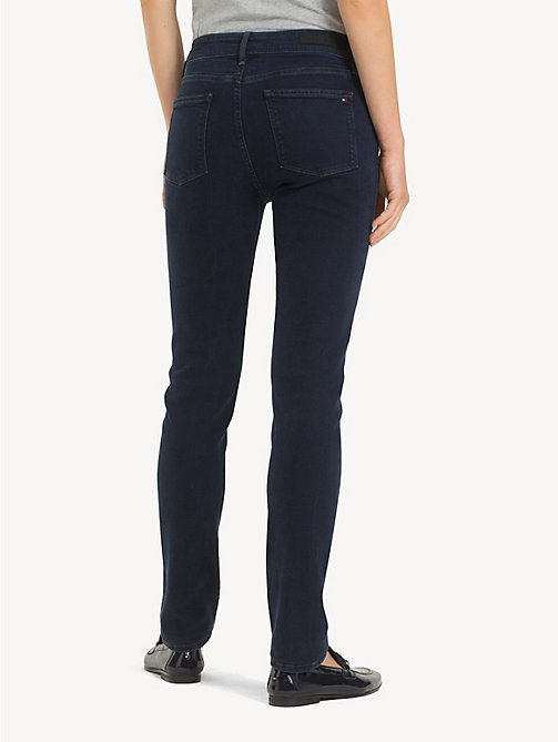 TOMMY HILFIGER Slim fit high rise jeans - ASTRA - TOMMY HILFIGER Slim fit jeans - detail image 1