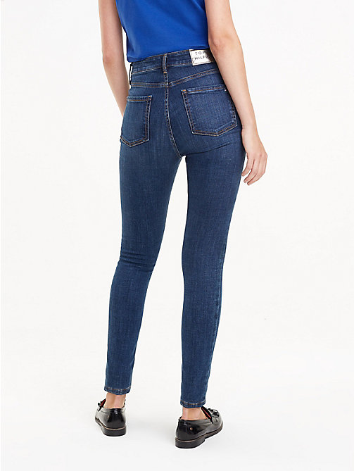 TOMMY HILFIGER Jean taille haute coupe ultra-skinny - SACHA - TOMMY HILFIGER Jeans skinny - image détaillée 1