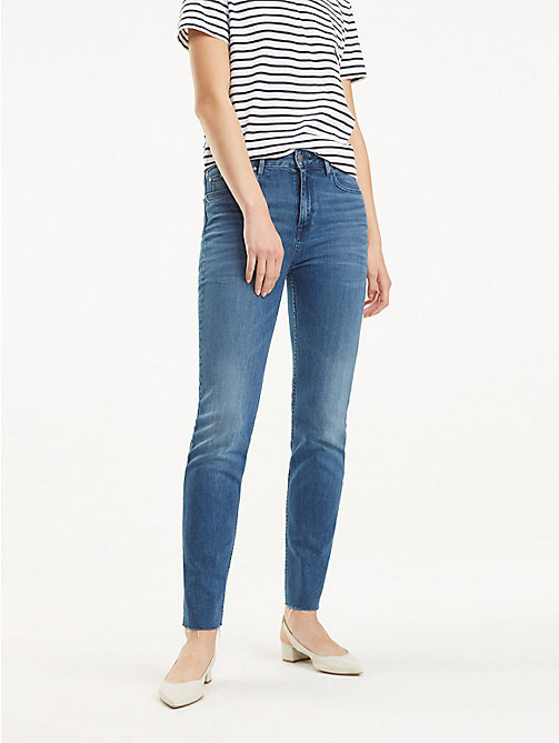 bb9876583 TOMMY HILFIGERRiverpoint High Rise Slim Fit Jeans