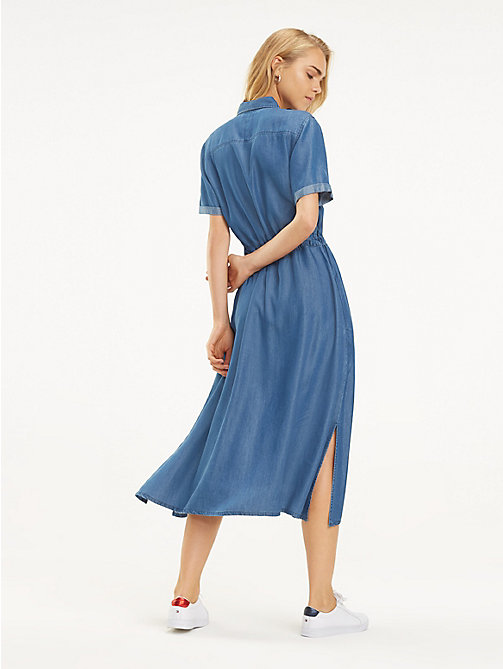 57c9139f5669 TOMMY HILFIGERDenim Midi Dress. £140.00. NEW