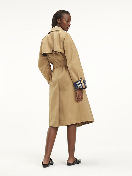 TOMMY HILFIGER Contrast Cuff Trench Coat - CLASSIC CAMEL - TOMMY HILFIGER NEW IN - detail image 1