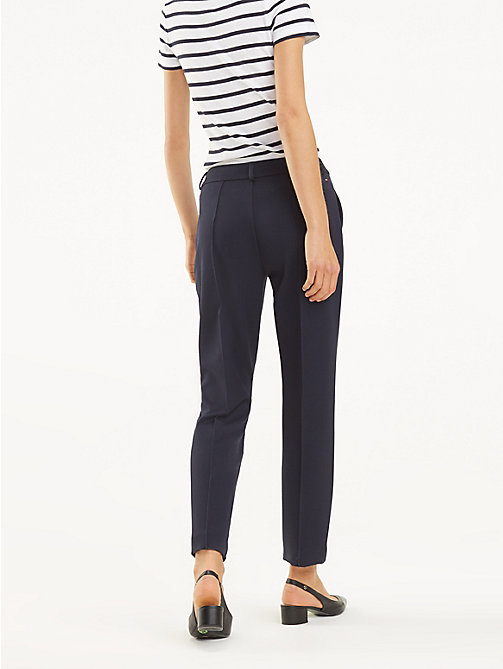 TOMMY HILFIGER Broek met stretch - MIDNIGHT - TOMMY HILFIGER Broeken - detail image 1