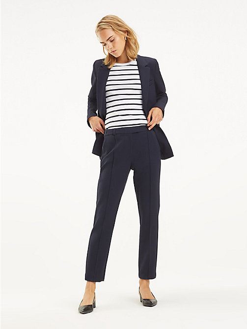 TOMMY HILFIGER Broek met stretch - MIDNIGHT - TOMMY HILFIGER Broeken - main image