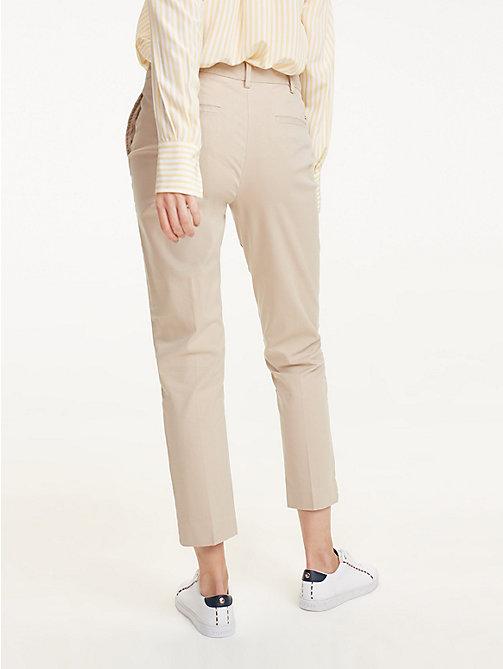 Joggingbroek Skinny Dames.Damesbroeken Zomerbroeken Pantalons Tommy Hilfiger Be