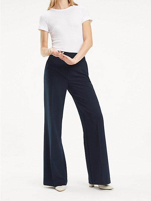 2ac11e59b14dc Pantalons femme   Pantalons d'été femme   Tommy Hilfiger® FR