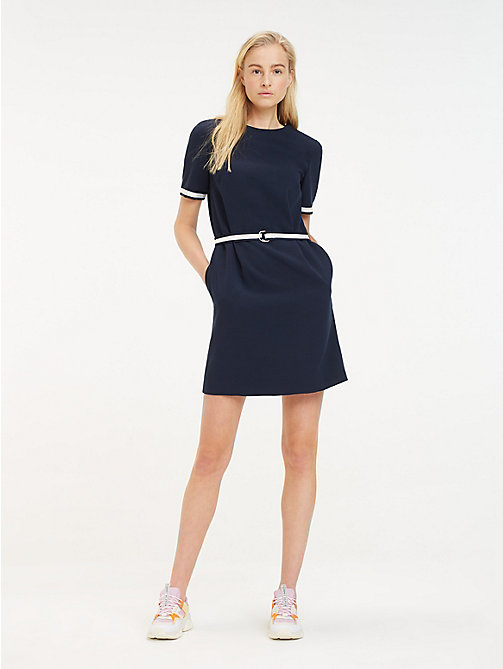 5887c860dbd3 TOMMY HILFIGERStripe Belt T-Shirt Dress. £115.00