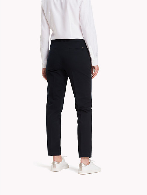 TOMMY HILFIGER Broek met global stripe - MIDNIGHT - TOMMY HILFIGER Kleding - detail image 1