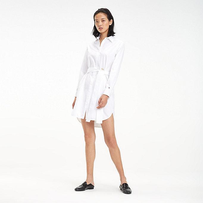 Robes femme chemise longue sans Tommy Hilfiger comparez et