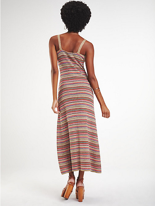 fdb8af0cbd6d TOMMY HILFIGERZendaya Multicolour Stripe Dress. £165.00. EXCLUSIVE