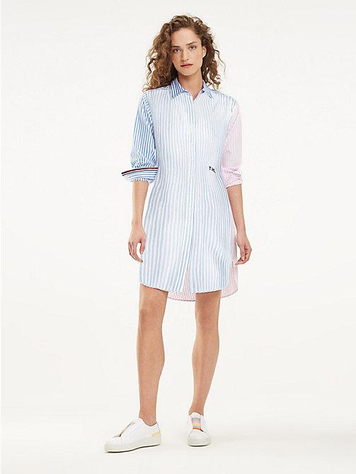 37b0643a11b TOMMY HILFIGEREssential Stripe Shirt Dress
