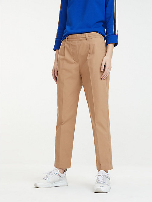 1673cdf3b2e Women's Trousers | Ladies' Summer Trousers | Tommy Hilfiger® UK